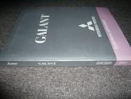 2007 MITSUBISHI Galant Electrical Supplement MEDIC Service Shop Manual SET 07