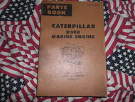 Caterpillar D398 Marine Engine Part Book 67B1-67B919