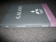 2010 MITSUBISHI Galant Electrical Supplement Service Repair Shop Manual OEM 10
