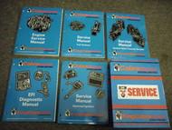 1984 Cobra King Cobra MD Stern Drive Service Manual Set