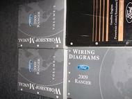 2009 FORD RANGER TRUCK Service Shop Repair Manual Set DEALERSHIP W EWD OEM