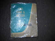 1961 Ford & Meteor Service Shop Repair Workshop Manual OEM Book 1961