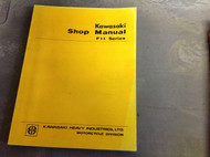 1972 1973 1974 1975 1976 Kawasaki F11 F 11 Service Repair Shop Manual NEW BOOK x