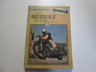 1977 1986 Clymer Suzuki GS550 Service Repair Maintenance Manual STAINED DAMAGED