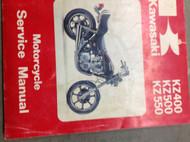 1979 1980 1981 KAWASAKI KZ400 KZ500 KZ550 Service Repair Shop Manual x OEM