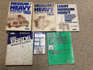 1980 FORD HEAVY & MEDIUM DUTY Truck Service Shop Repair Workshop Manual Set OEM