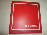 1981 1985 Suzuki GS250T Service Repair Manual BINDER MISSING PAGES 81 85 DEAL