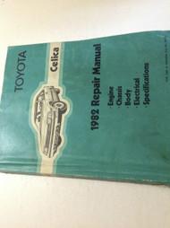 1982 Toyota Celica Service Shop Repair Workshop Manual OEM Factory