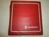 1987 1988 Suzuki GV1400 Service Repair Manual BINDER STAINED DAMAGED 2 VOL SET