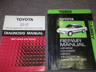 1989 TOYOTA CAMRY C A M R Y Service Repair Shop Manual SET OEM W DIAGNOSIS BOOK