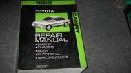 1989 Toyota Camry Service Repair Shop Workshop Manual OEM