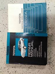 1989 TOYOTA CRESSIDA Service Shop Repair Manual Set OEM W Wiring Diagram