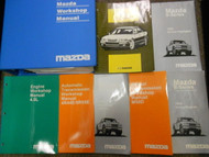 1998 Mazda B-Series Truck Service Repair Shop Workshop Manual SET OEM Book