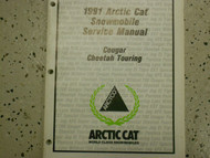 1991 Arctic Cat Cougar Cheetah Touring Service Repair Shop Manual FACTORY OEM x