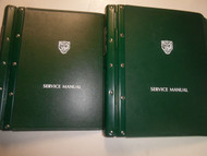 1991 Jaguar XJ6 Service Repair Shop Manual Electrical Harness 2 VOL SET BINDER