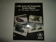 1992 Arctic Cat EXT Special Prowler Special Service Repair Manual MINOR WEAR 92