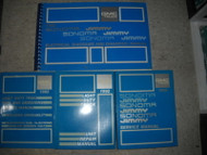 1992 GMC Jimmy Sonoma Truck Service Shop Workshop Manual Set OEM W Electrical
