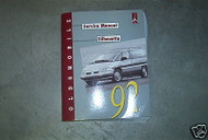 1992 Oldsmobile Silhouette Mini Van Workshop Service Repair Shop Manual OEM