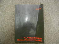 1994 Acura Vigor Electrical Troubleshooting Wiring Diagram Manual FACTORY OEM
