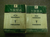 1994 Chevy Camaro Pontiac Firebird Service Shop Repair Manual Set FACTORY OEM
