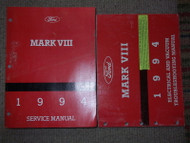 1994 Lincoln Mark VIII 8 Service Repair Shop Workshop Manual SET FACTORY W EWD