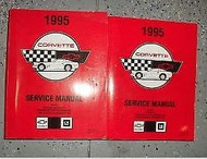 1995 GM Chevrolet Chevy CORVETTE Service Repair Workshop Shop Manual Set OEM