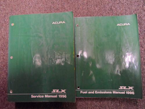 1996 Acura Slx Service Repair Shop Manual Set Factory W