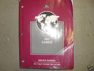 1997 Ford Cargo Truck Service Shop Repair Workshop Manual FACTORY OEM BOOK