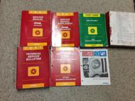 1997 Jeep WRANGLER Service Shop Repair Manual Set W Tech Bulletin + Supplement