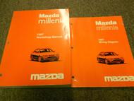 1997 Mazda Millenia Service Repair Shop Manual SET OEM FACTORY BOOK 97 x