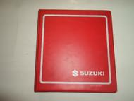 1997 Suzuki VZ800 Service Repair Manual BINDER MINOR WEAR STAINS FACTORY OEM 97