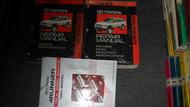 1993 TOYOTA 4RUNNER 4 RUNNER Service Shop Repair Manual Set OEM W EWD OEM BOOK
