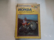 1980 1981 Clymer Honda ATC185 200 Service Repair Performance Manual DAMAGED