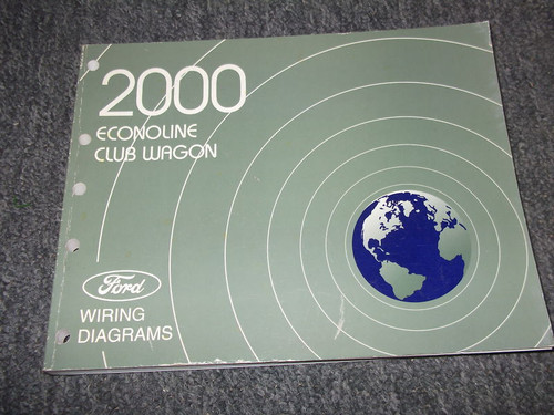 2000 Ford Econoline Van Wiring Electrical Diagram Service