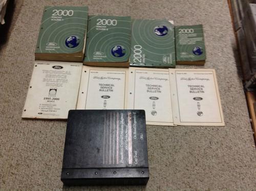2000 Ford Ranger Truck Service Shop Repair Manual Set W