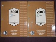 2001 Cadillac CATERA Service Shop Repair Workshop Manual SET BRAND NEW 2001