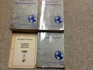 2001 FORD TAURUS MERCURY SABLE Service Shop Repair Manual Set W EWD + Technical