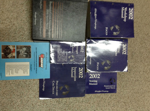2002 Ford Focus Service Shop Repair Manual Set Oem W Pced