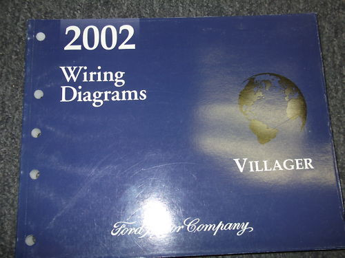 2002 Mercury Villager Van Wiring Electrical Wiring Diagram ...