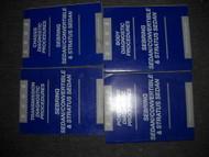 2002 Sebring Sedan & Convertible Diagnostics Procedures Manual Factory OEM Mopar
