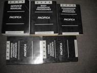 2005 CHRYSLER PACIFICA Service Repair Shop Manual Set W DIAGNOSTICS MANUALS