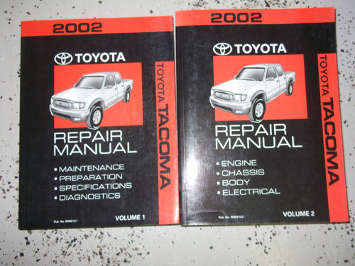 Diagram 2001 Toyota Tacoma Service Repair Shop Set Oem 2 Volume Set And The Wiring Diagrams Full Version Hd Quality Wiring Diagrams Soadiagram Oliovinoturismo It