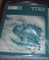 1977 77 PONTIAC Grand Prix Lemans Firebird Bonneville Service Repair Manual NEW
