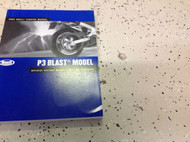 2004 Buell P3 P 3 Blast Parts Service Shop Repair Manual Set W Parts Catalog New