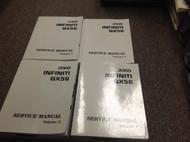 2005 Infiniti QX56 QX 56 Service Repair Shop Workshop Manual FACTORY OEM