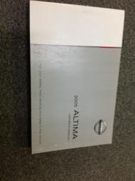2005 NISSAN ALTIMA Owners Operators Owner Manual FACTORY OEM BOOK