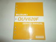 2005 Suzuki QUV620F Service Repair Shop Manual MINOR WEAR FACTORY OEM BOOK 05