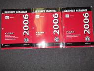 2006 Chevrolet Chevy Corvette Service Shop Repair Manual Set FACTORY BRAND NEW