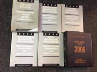 2006 CHRYSLER Sebring Convertible DODGE Stratus Service Shop Manual Set W DIAG +
