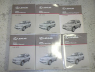 2008 Lexus LX570 LX 570 Service Shop Repair Manual SET FACTORY NEW W Wiring Diag